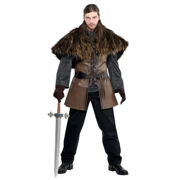 Warrior Furry Shoulder Cape